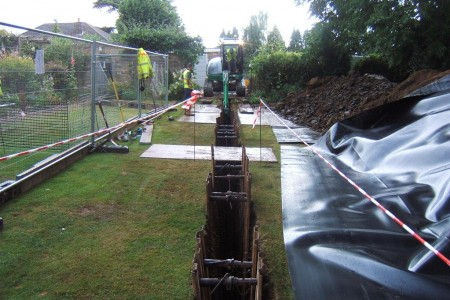 Root Barriers, Full Design and Installation Service by MWA Arboriculture